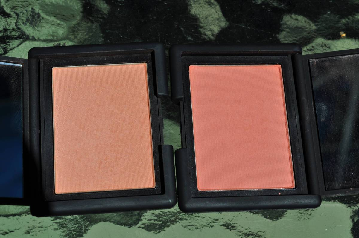 Comparison: NARS Blushes Gina vs. Gilda + Swatches!