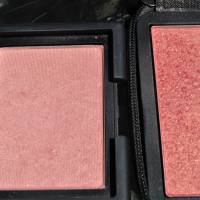 Comparison: NARS Orgasm vs Deep Throat Blush + Swatches!