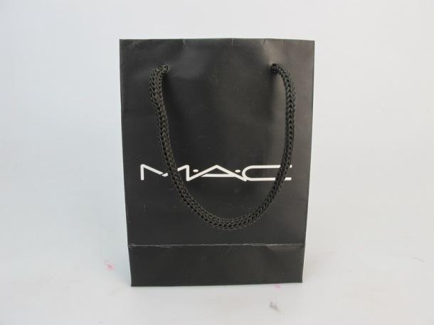 mac makeup shopping bag