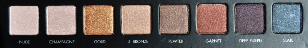 bottom row lorac pro