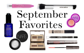 September Favorites!