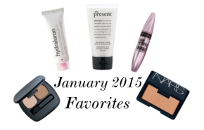 January 2015 Favorites!