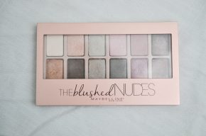 Review: Maybelline Blushed Nudes Eyeshadow Palette + Swatches