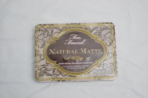 Review: Too Faced Natural Matte Eyeshadow Palette + Swatches!